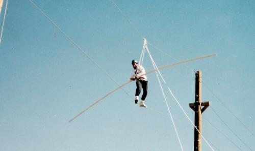 Web Ropes Course - High Elements