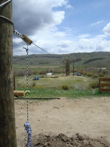 zip-line-ending-pole